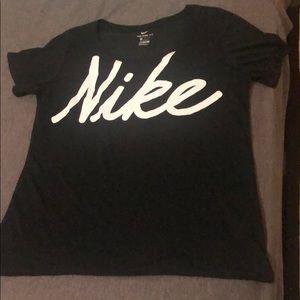 Nike dri fit athletic cut tee